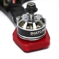 Diatone GT2-200 frame protector and soft motor mount kit